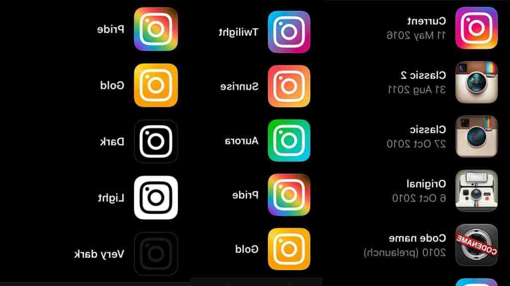 Comment changer les icônes ?