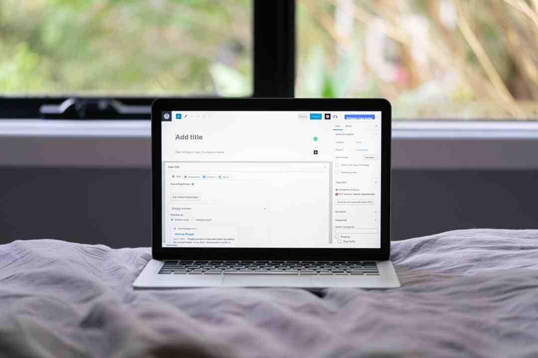 Comment faire un beau site sur WordPress ?